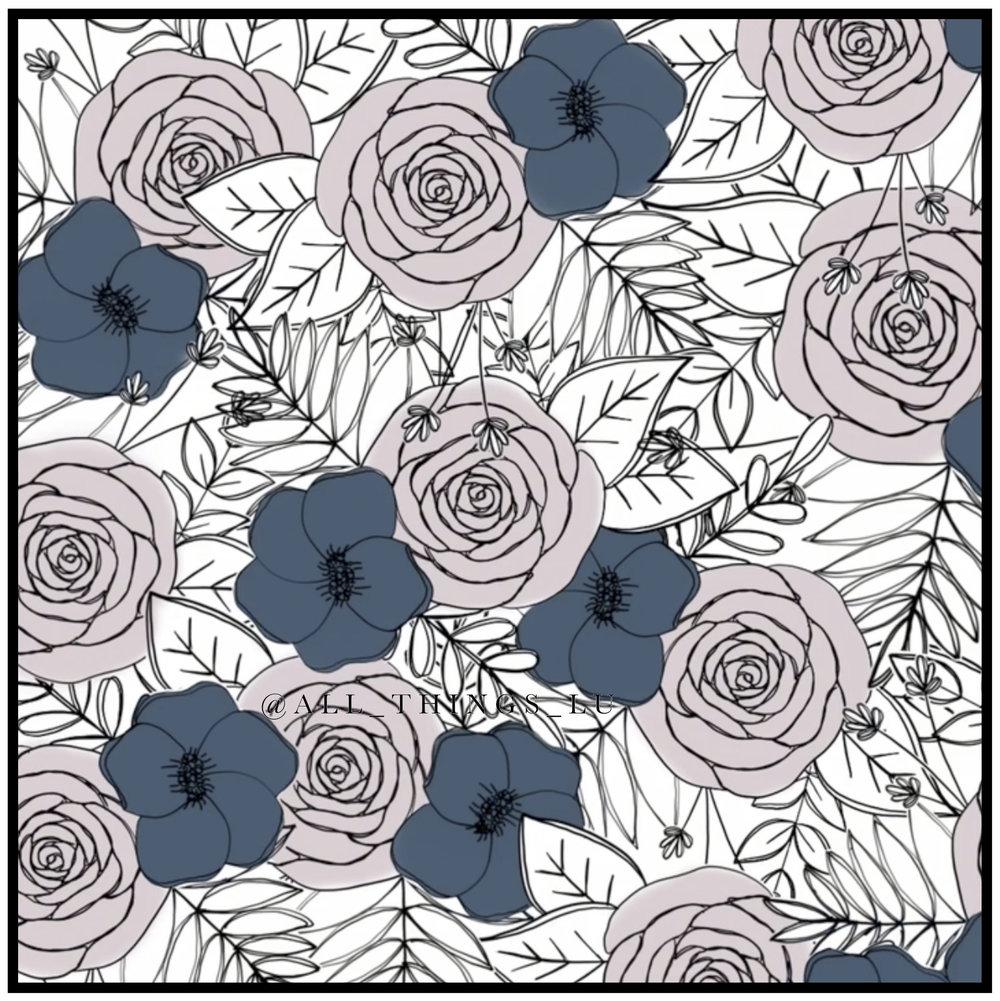 Floral tutorial in procreate app all things lu 10ag mightylinksfo