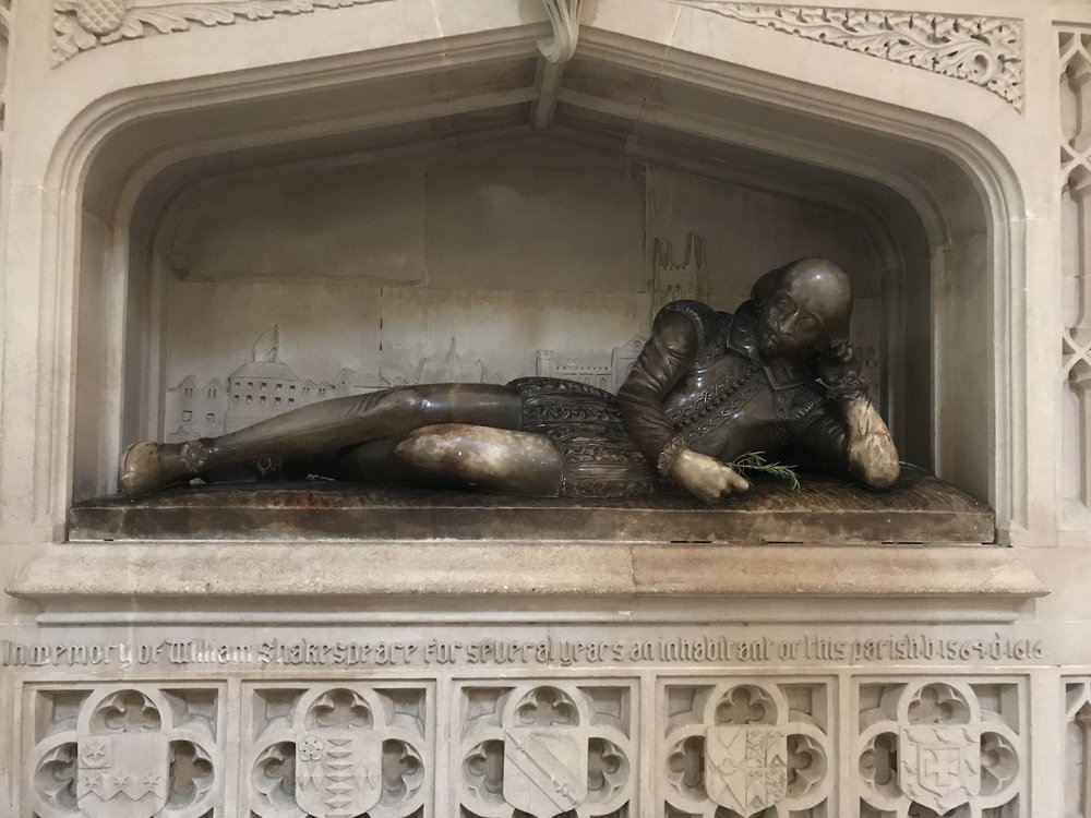 William Shakespeare, Southwark Cathedral, London