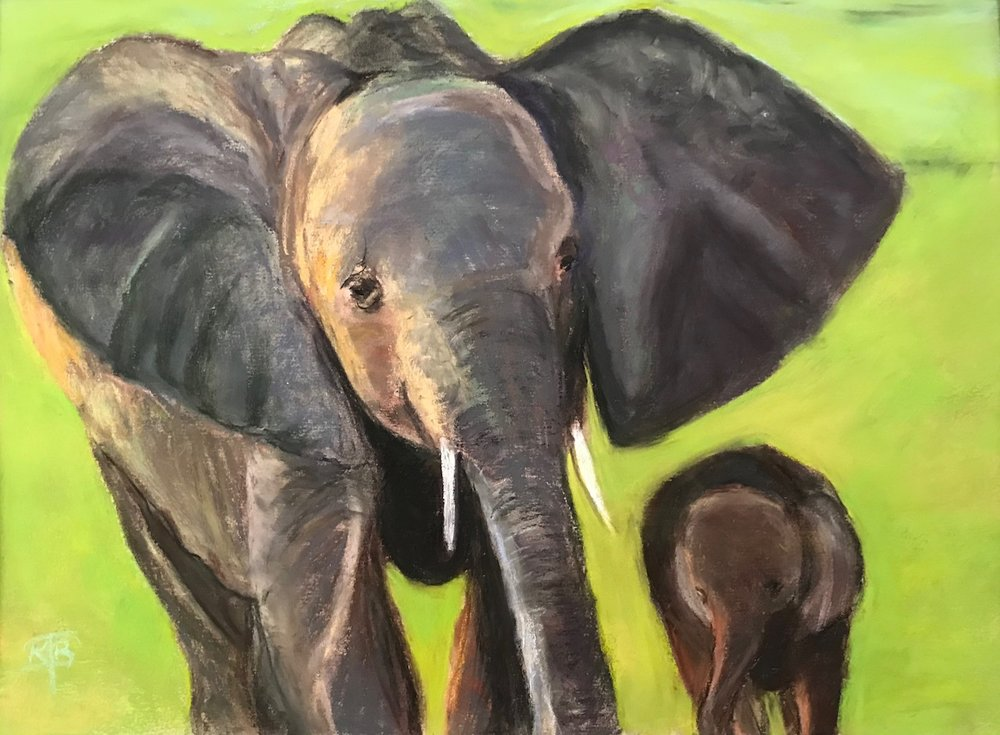 Elephant-Mom-&-Babe-pastel-painting-by-Kathryn-Beam-Troxler-IMG_6290.jpg