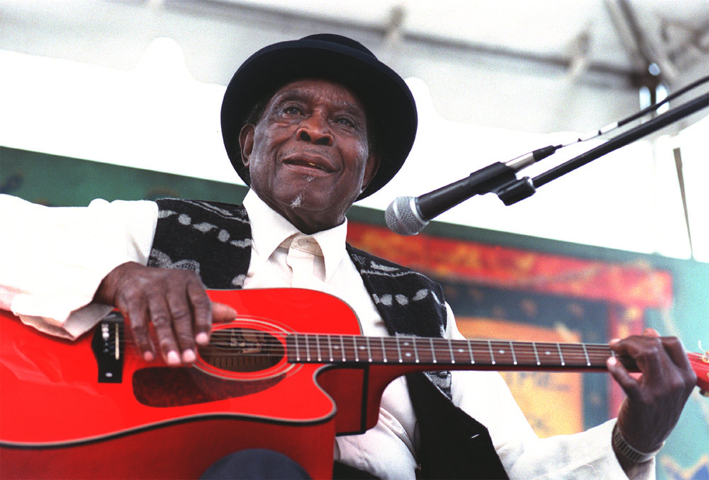 David Honeyboy Edwards: Chicago Blues Festival, 1998