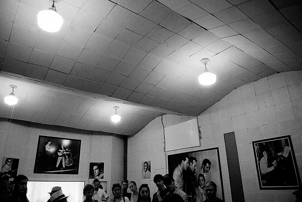 Sun Studio, Memphis, 2016