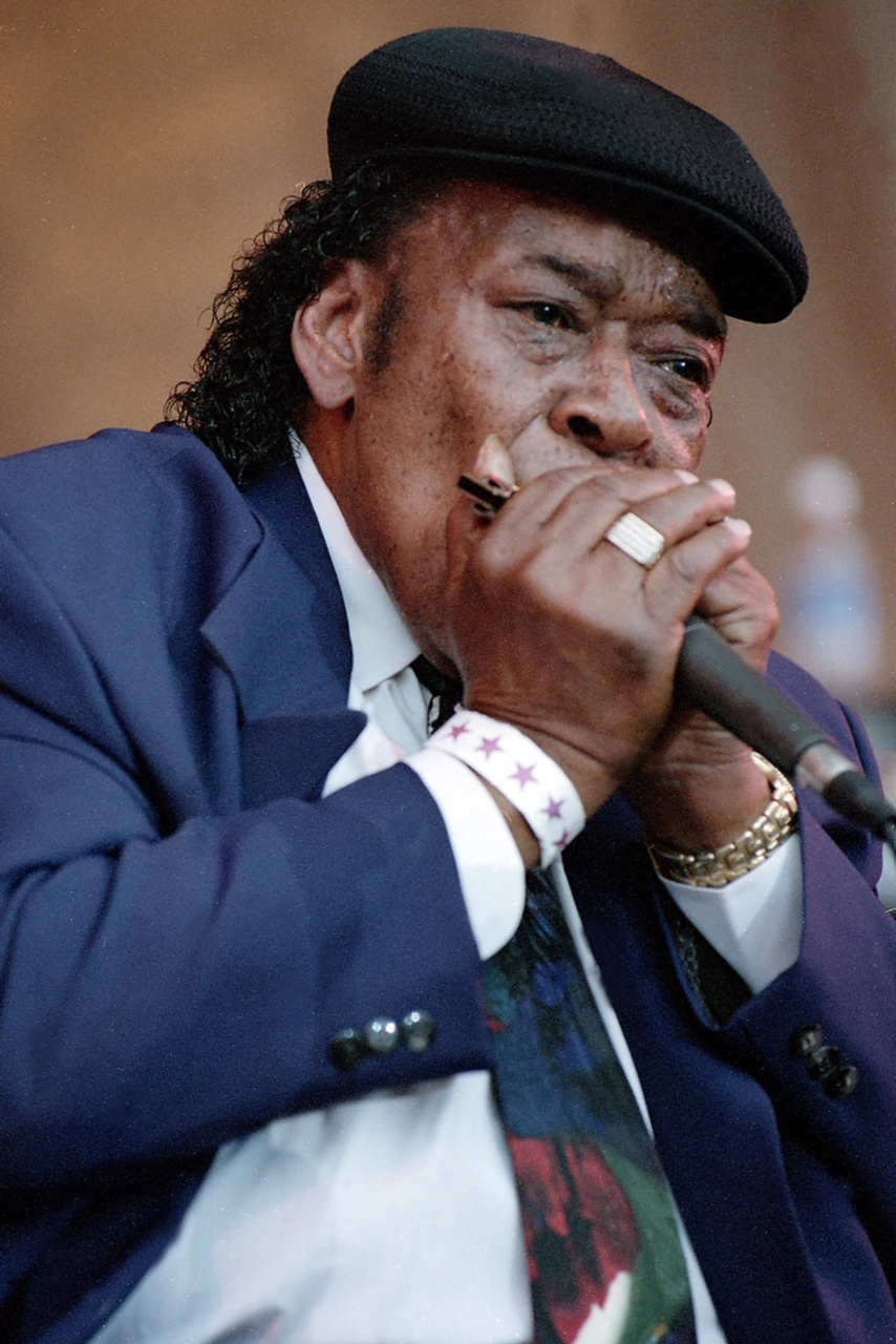 James Cotton, Chicago Blues Festival, 1999