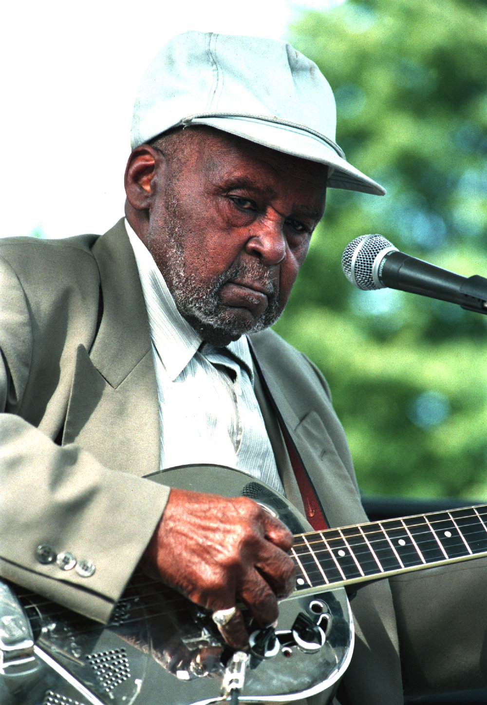 Henry Townsend, Chicago Blues Festival, 1999