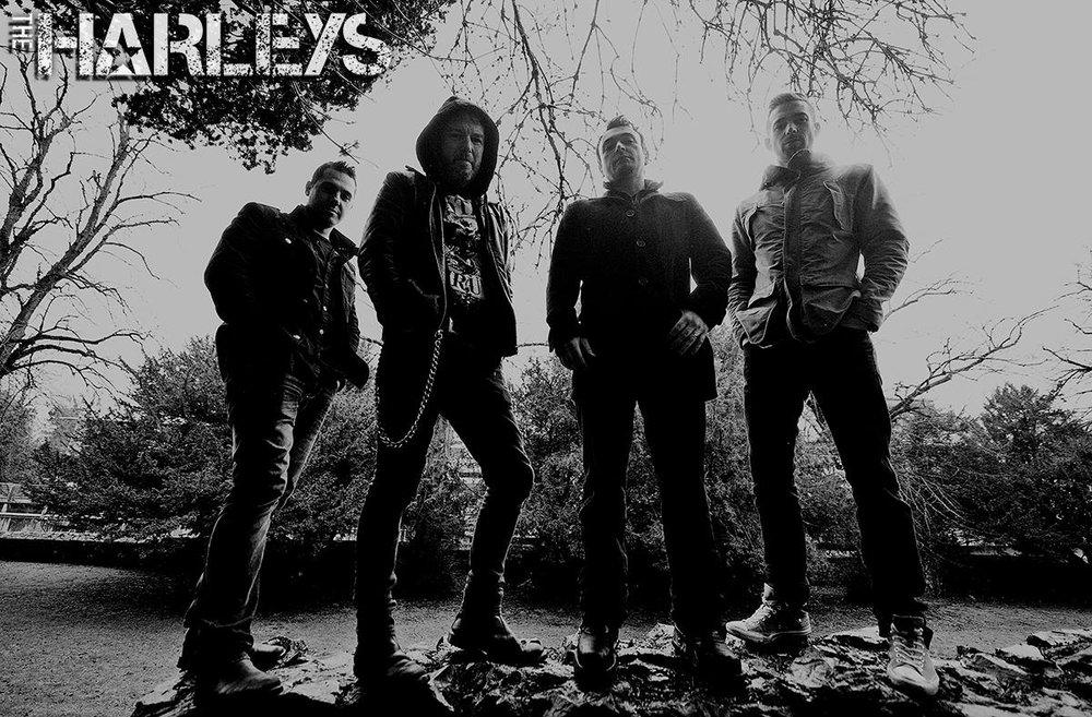 Harleys BW.jpg