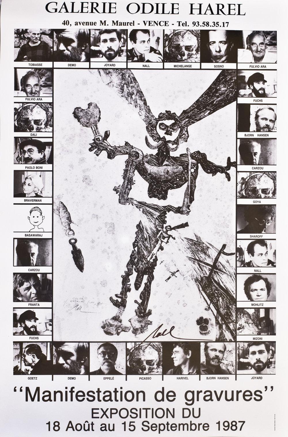 Manifestation de Gravures - 1987
