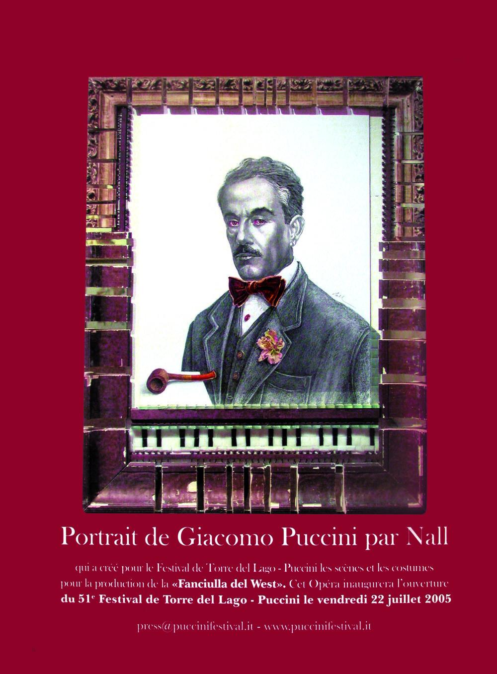 Puccini Portrait - 2005