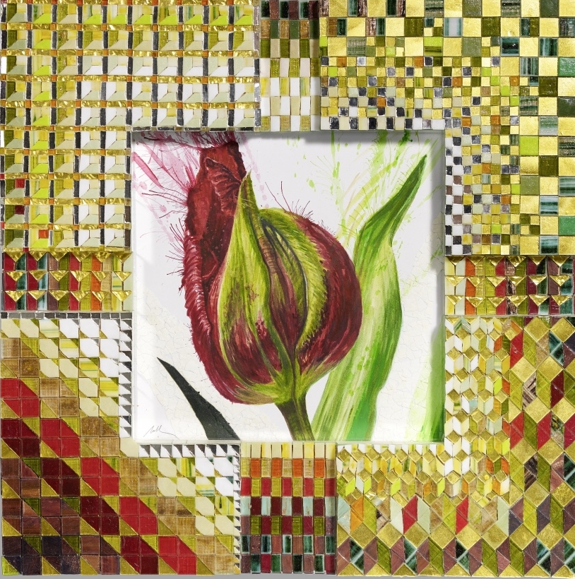 'Red Tulip' Original W/C -SOLD