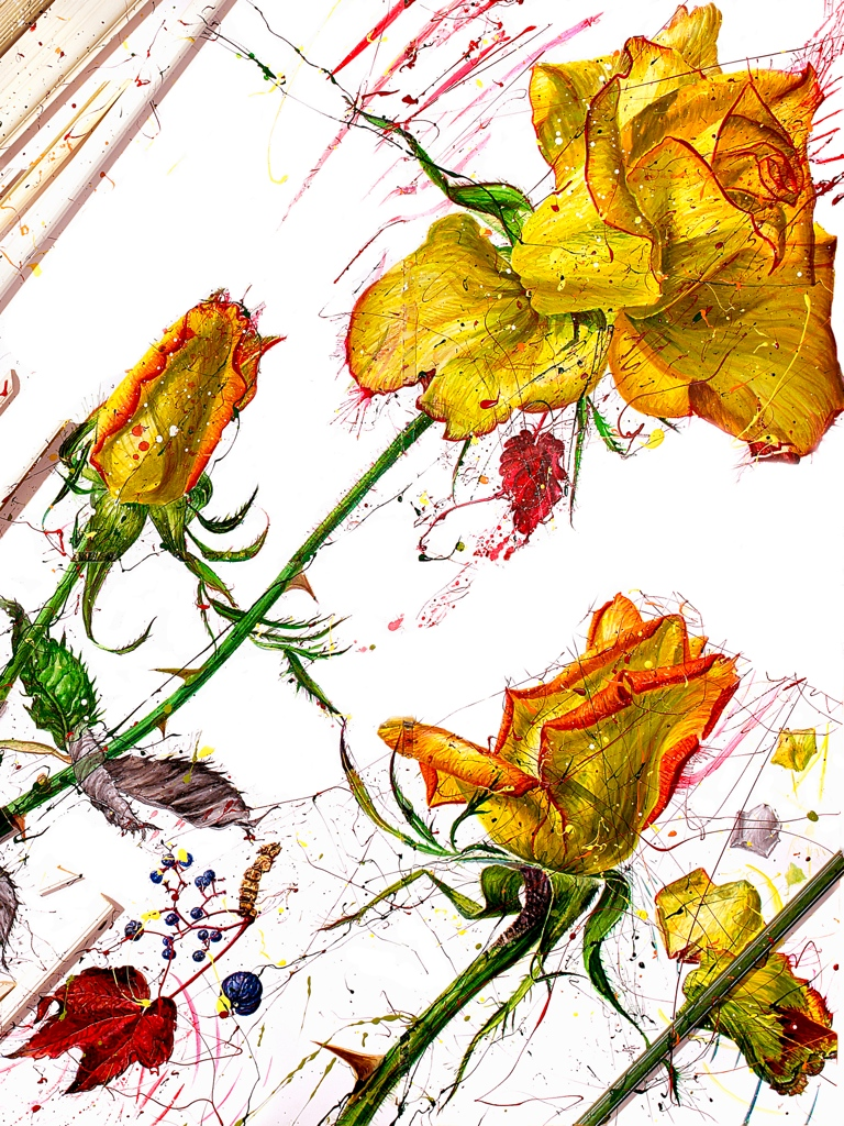'Yellow Roses'