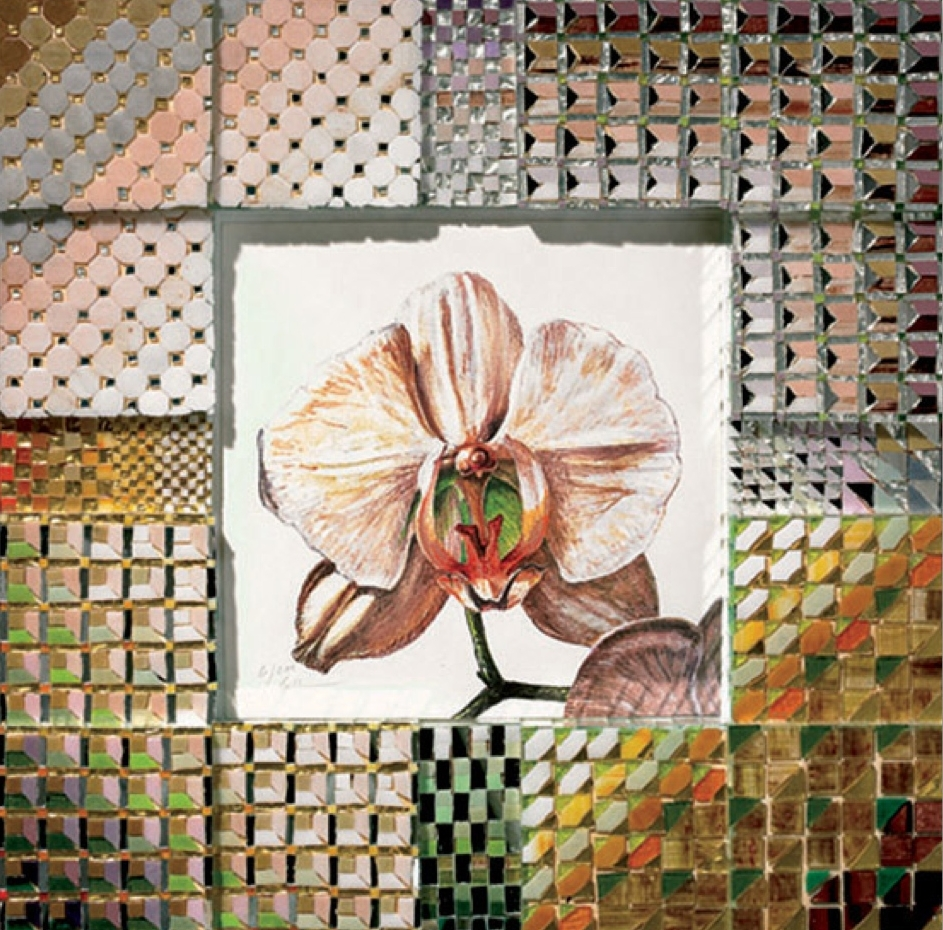 'Pink Orchid' - Original W/C -