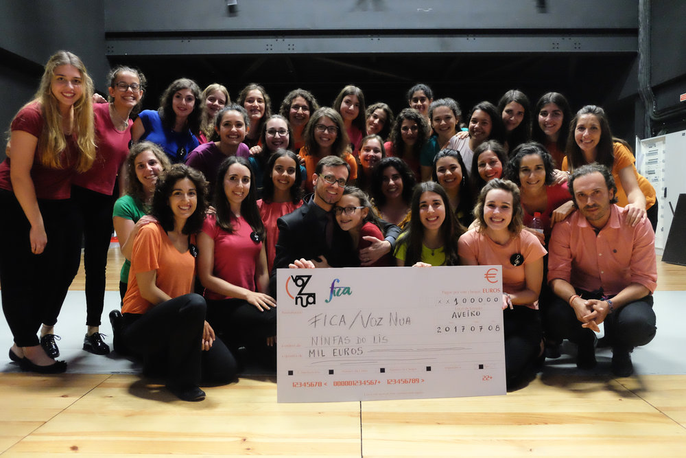 First Prize, 1000€: Coro Ninfas do Lis