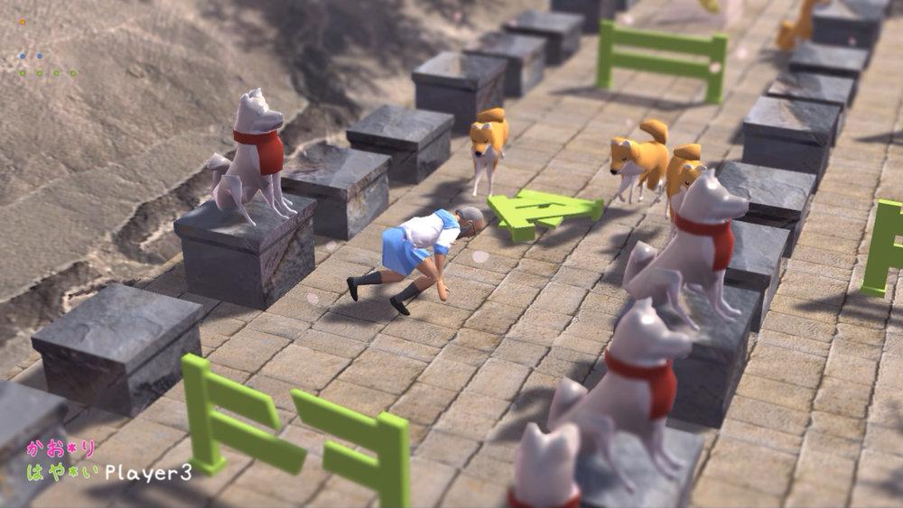 2 - Zenbei takes a bad fall