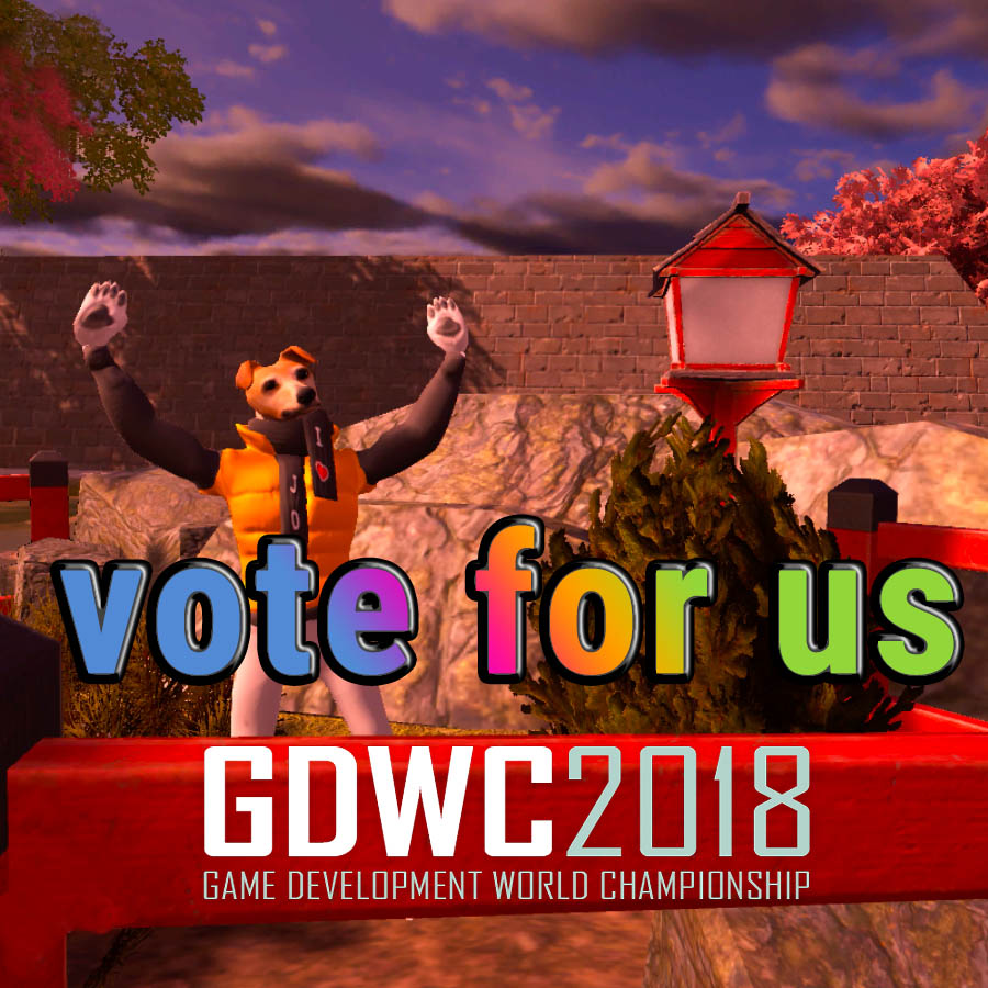 vote for us gdwc 2018