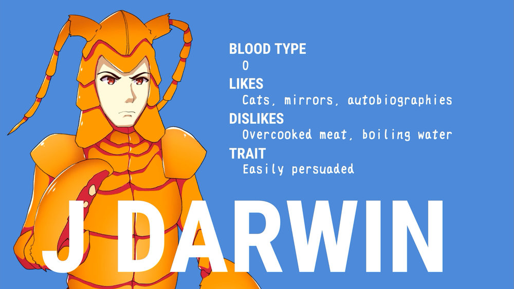 j darwin character bio