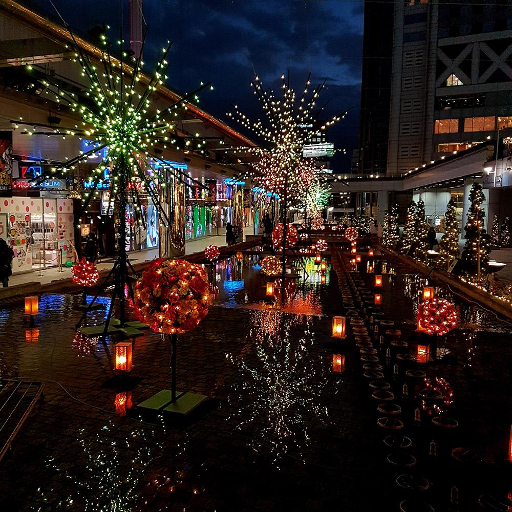 tokyo dome illuminations