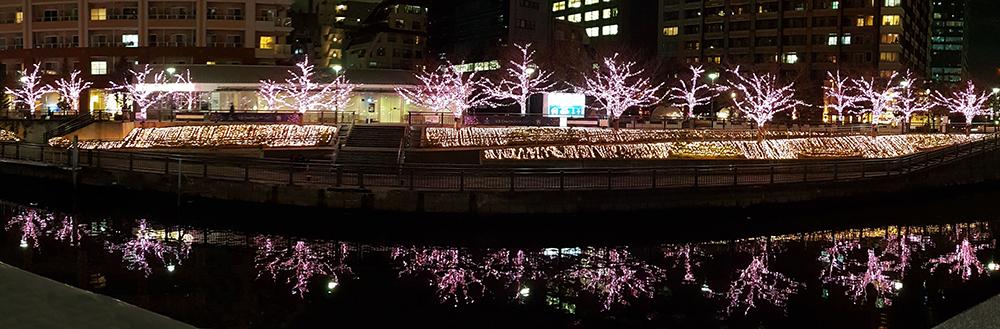 meguro christmas illuminations