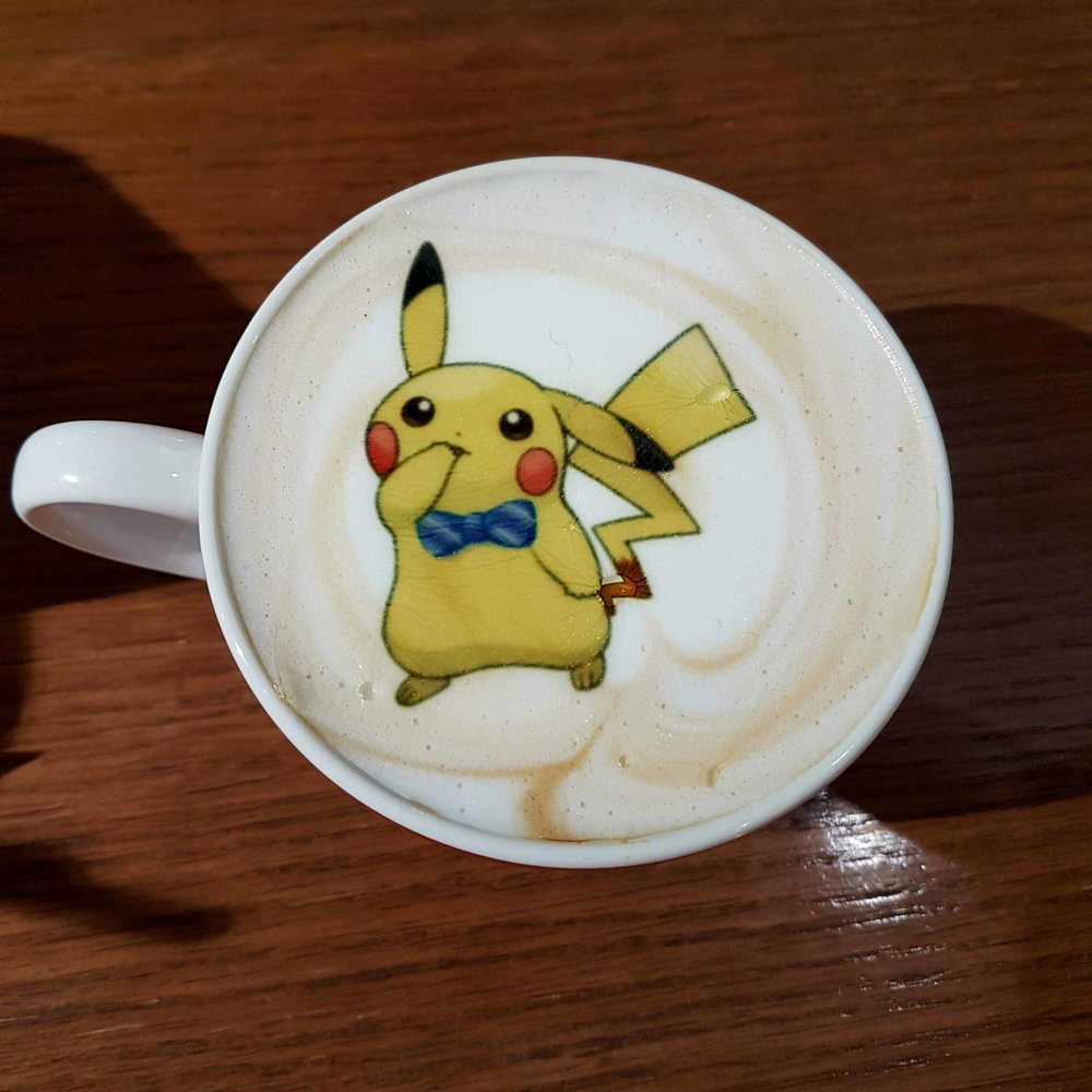 lets go pikachu eevee cafe review