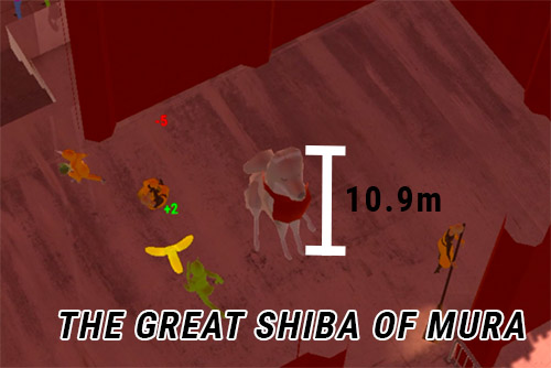 "Fun Fact - The Shrine in Mura Temple Village, known as ""The Great Shiba of Mura"" comes in as the third tallest in Japan; measuring at 10.9 metres. That's only 0.4 metres difference!"