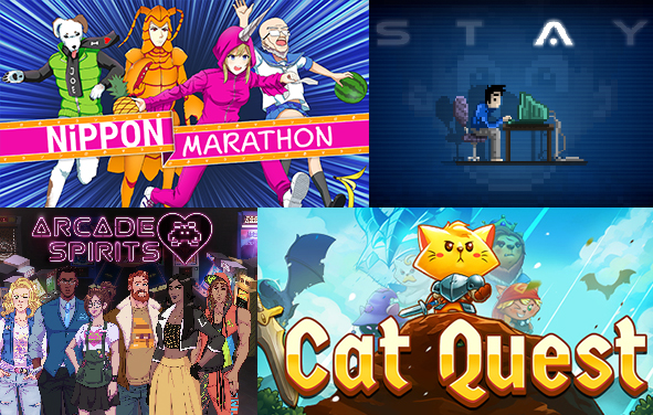 These are just some of the games which PQube are publishing.