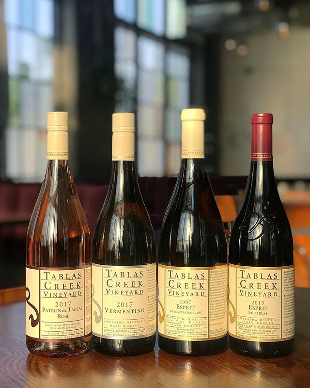 Tonight's the night! 4 courses. $95. @tablascreek wines paired with food by our very own @onolliscious. There are still a few tickets available so get yours before this event sells out. #winedinner #tablascreekvineyard #gessoresto