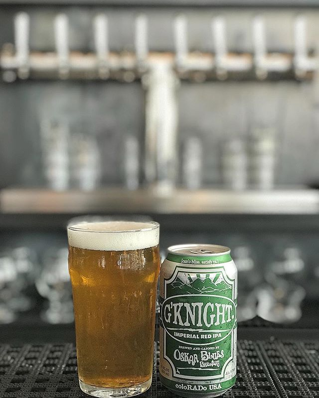 It's National IPA Day! Come try one of our 2 delicious offerings. On draft we have Verdugo West Trustworthy IPA. In a can we have Oskar Blues G'Knight Imperial Red IPA.  There's no better time than NOW! #beer #ipa #staythirstymyfriends
