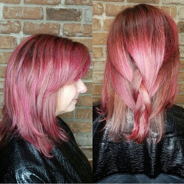 Sent via @planoly #planoly #colors #hair #hairstyles #haircolor #bayalage #fortcollins #behindthechair #beforeandafter #hairinspo #hair #redhair