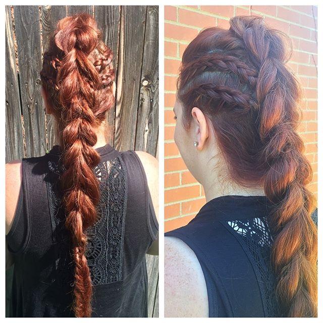 #braidstyles #braids #hairstyles #hair #haircolorideas #hairinspo #longhair #longhairstyles #hairgoals #frenchbraids #bohostyle #bohostyle #style #uniquehairstyles #weddinghair  Sent via @planoly #planoly