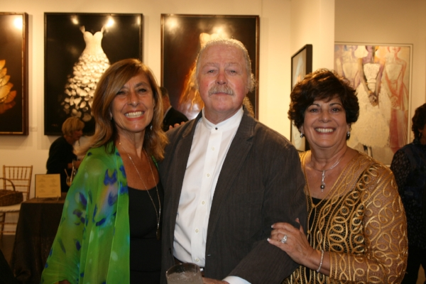Elaine Spaull, Albert Paley and Nan Miller