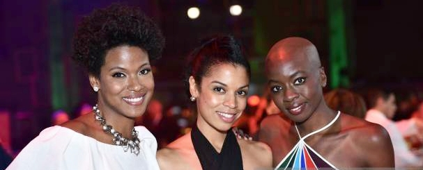 Cassandra Freeman Susan Kelechi Watson and Danai Gurira attend the Tisch School Gala 2017 at Cipriani
