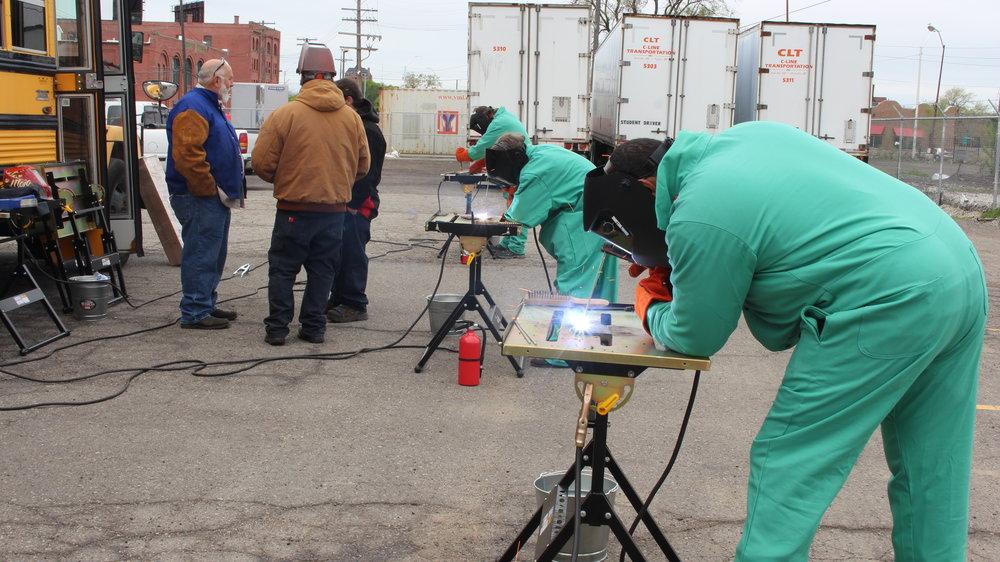 welding workshops -