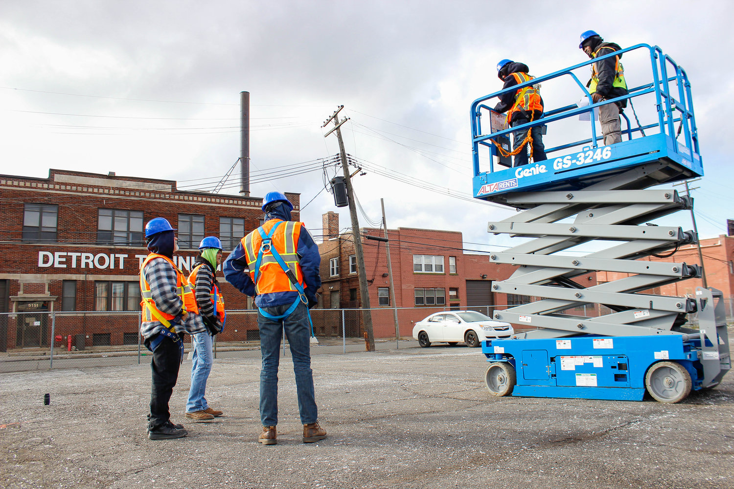 Aerial lift training course detroit training center aerial lift training course xflitez Choice Image
