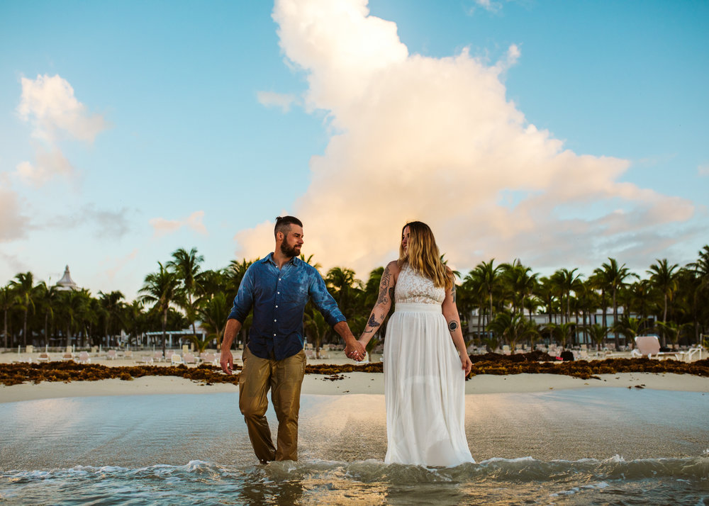 Riviera Maya Beach Wedding