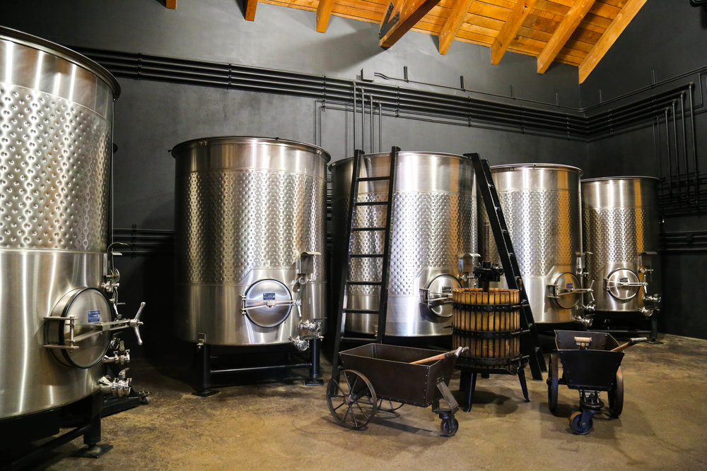 Fermentation room