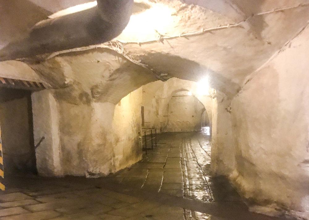 Pilsner Urquell underground cave