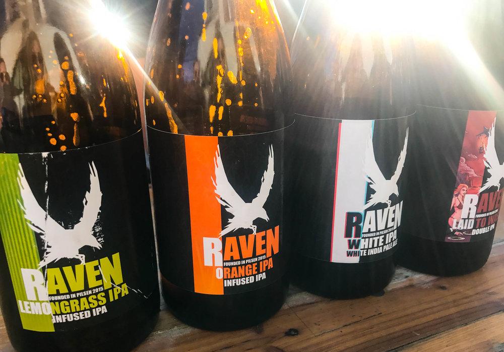 Raven craft beer