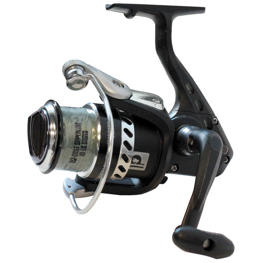 profishiency spinning reel loaded with p cast braid profishiency