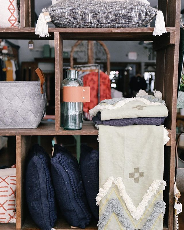 We'll take all the cozy textiles on this gloomy day.