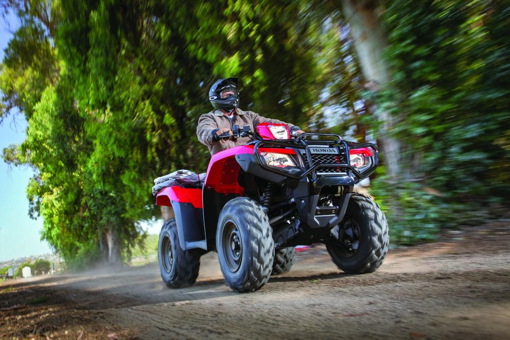 Honda TRX500 Rubicon IRS