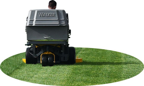 Beautiful Cut - From the very beginning, The Walker was designed to cut grass beautifully.