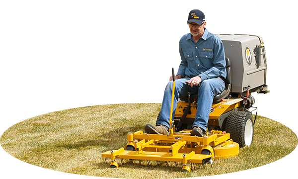Versatility - With a wide variety of attachments, the Walker can help in any season.