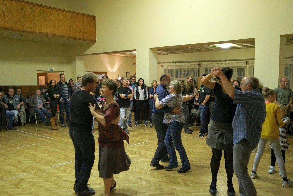 "Ballroom Dancing in the Loužnice ""Sokol'"