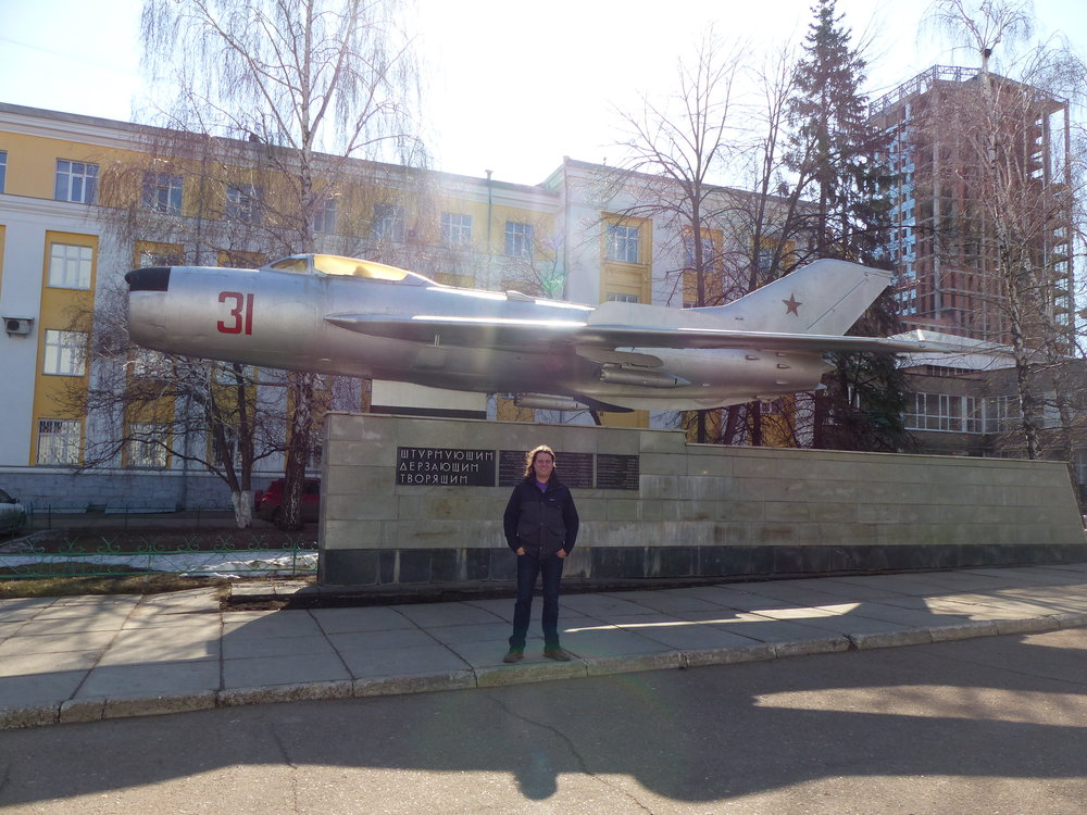 The Soviet's were proud of their jets, which were everywhere.
