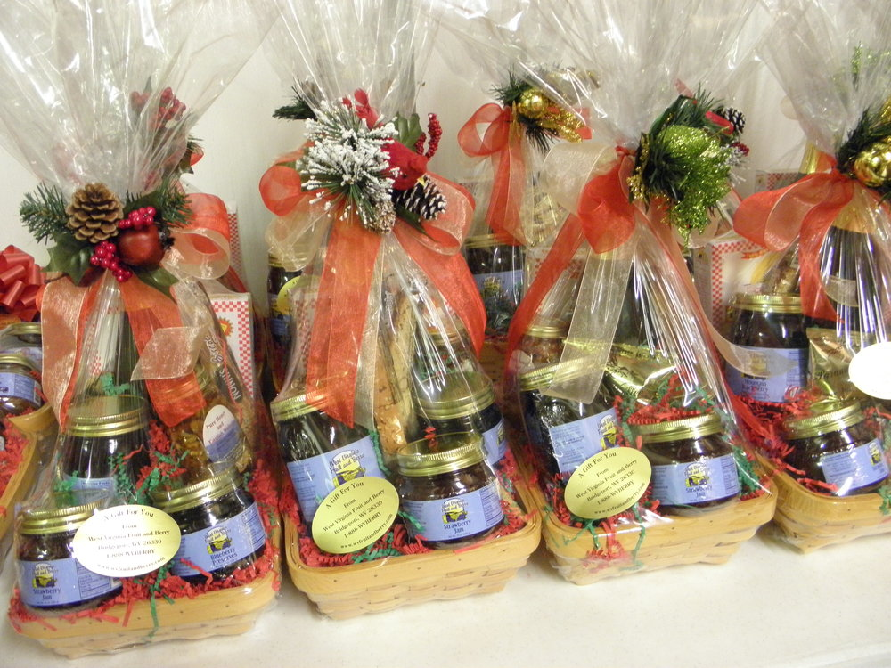 Custom Gift baskets for your customers -