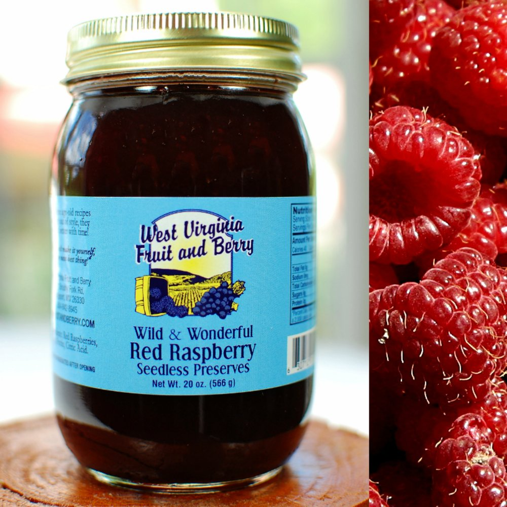 Wild & Wonderful Seedless Red Raspberry Preserves