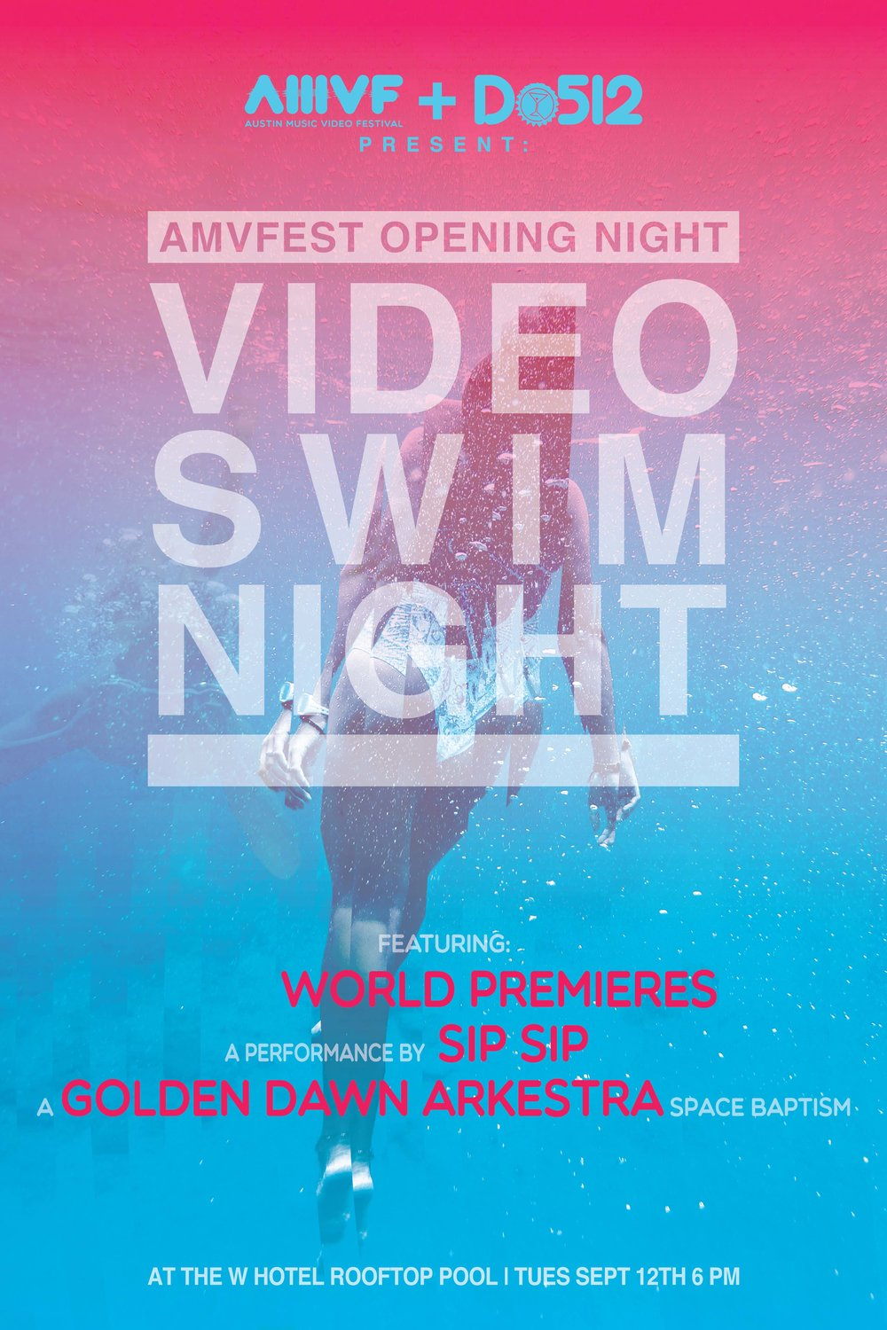 Video Swim Night