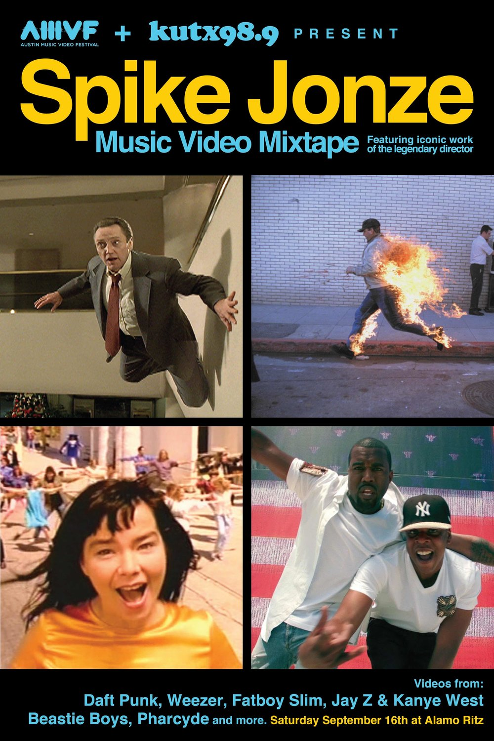 SPIKE JONZE MUSIC VIDEO MIXTAPE
