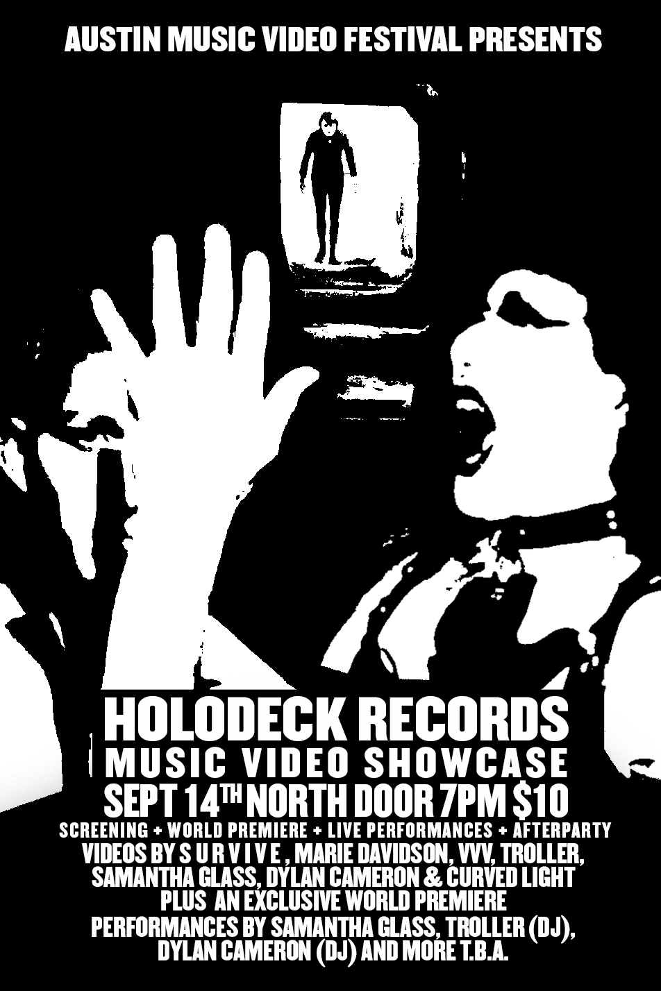 HOLODECK VIDEO SHOWCASE + AFTERPARTY