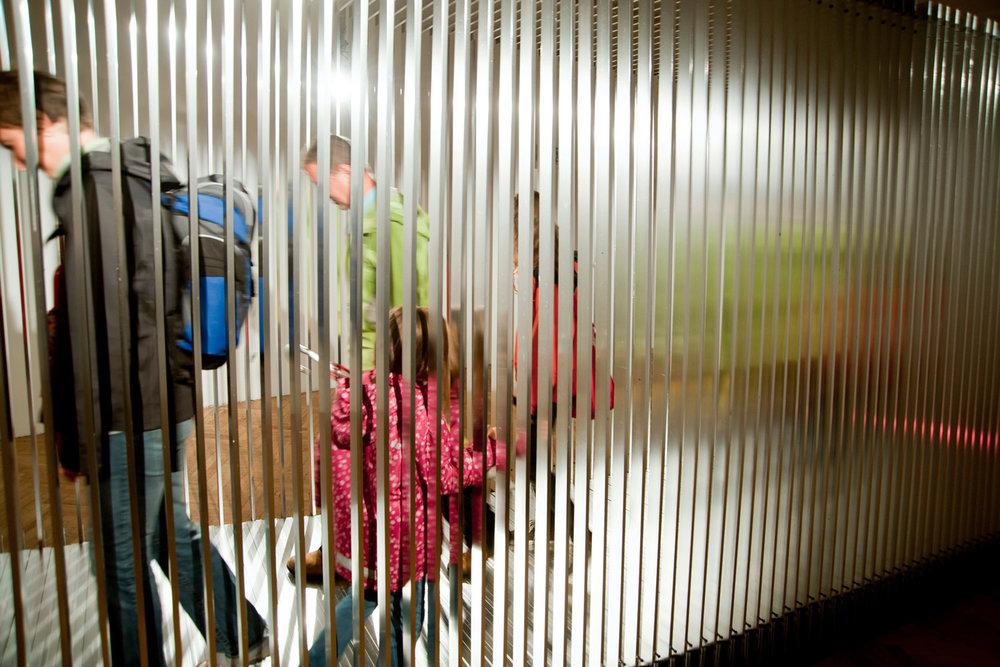 tunnel | túnel    @ ok centrum 2011   + expo