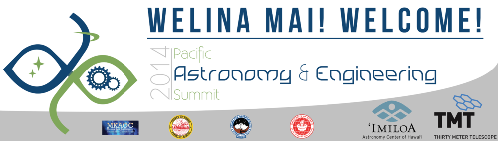 Pacific Astronomy & Engineering 2014 Banner w/ Sponsors