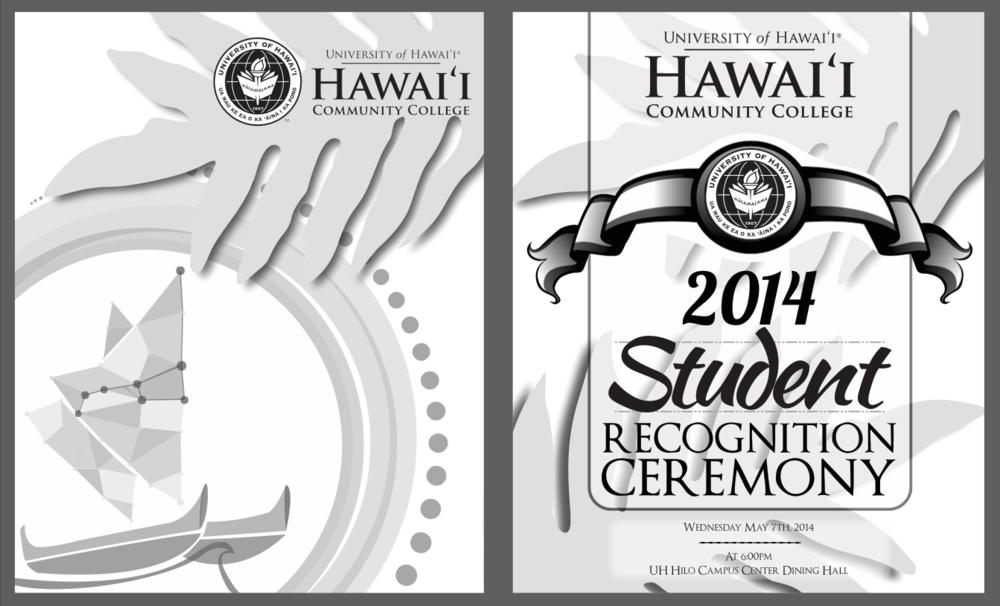 HCC Student Recognition Ceremony 2014 Program Design