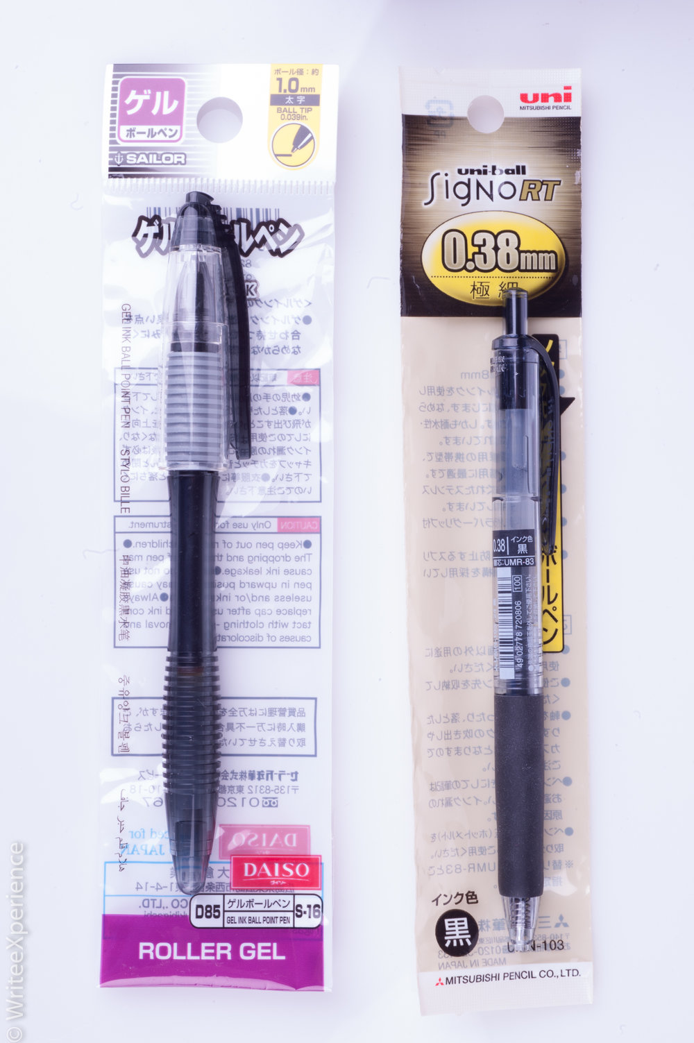 WriteeXperience-Daiso-Sailor-Roller-Gel-Uni-Ball-signo-rt
